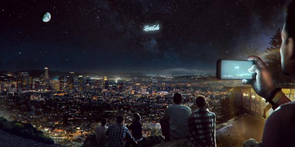"""广告可以""""上天""""了!俄公司拟于2021年发射""""太空广告牌"""""""