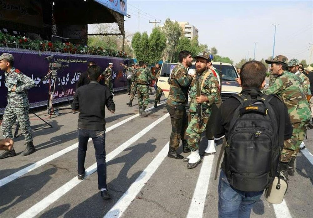 Armed men blow up gas tanker truck in Iran, policeman killed