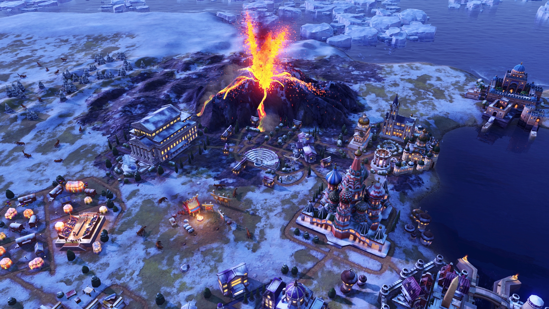 Let's take a look at Civilization 6: Gathering Storm's new climate and diplomacy systems