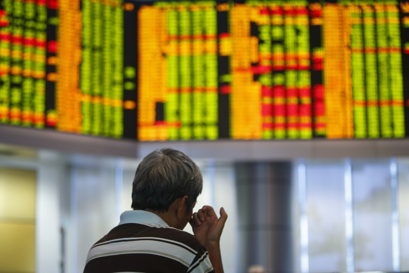 美股涨推动亚股升‧马股收市升3.31点