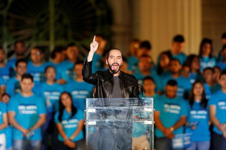 El Salvador votes for new president, with anti-corruption outsider in lead