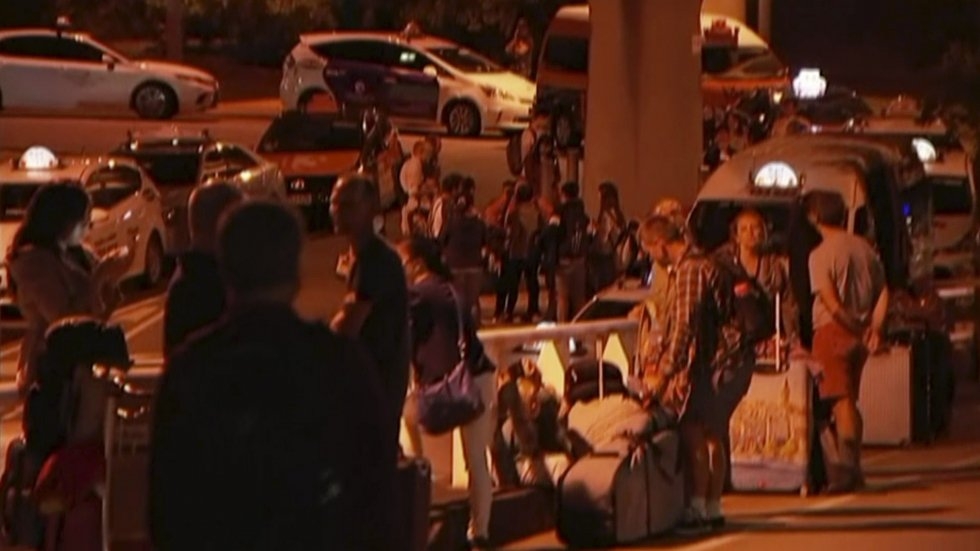 Man charged after making bomb threat, forcing evacuation of Brisbane International Airport