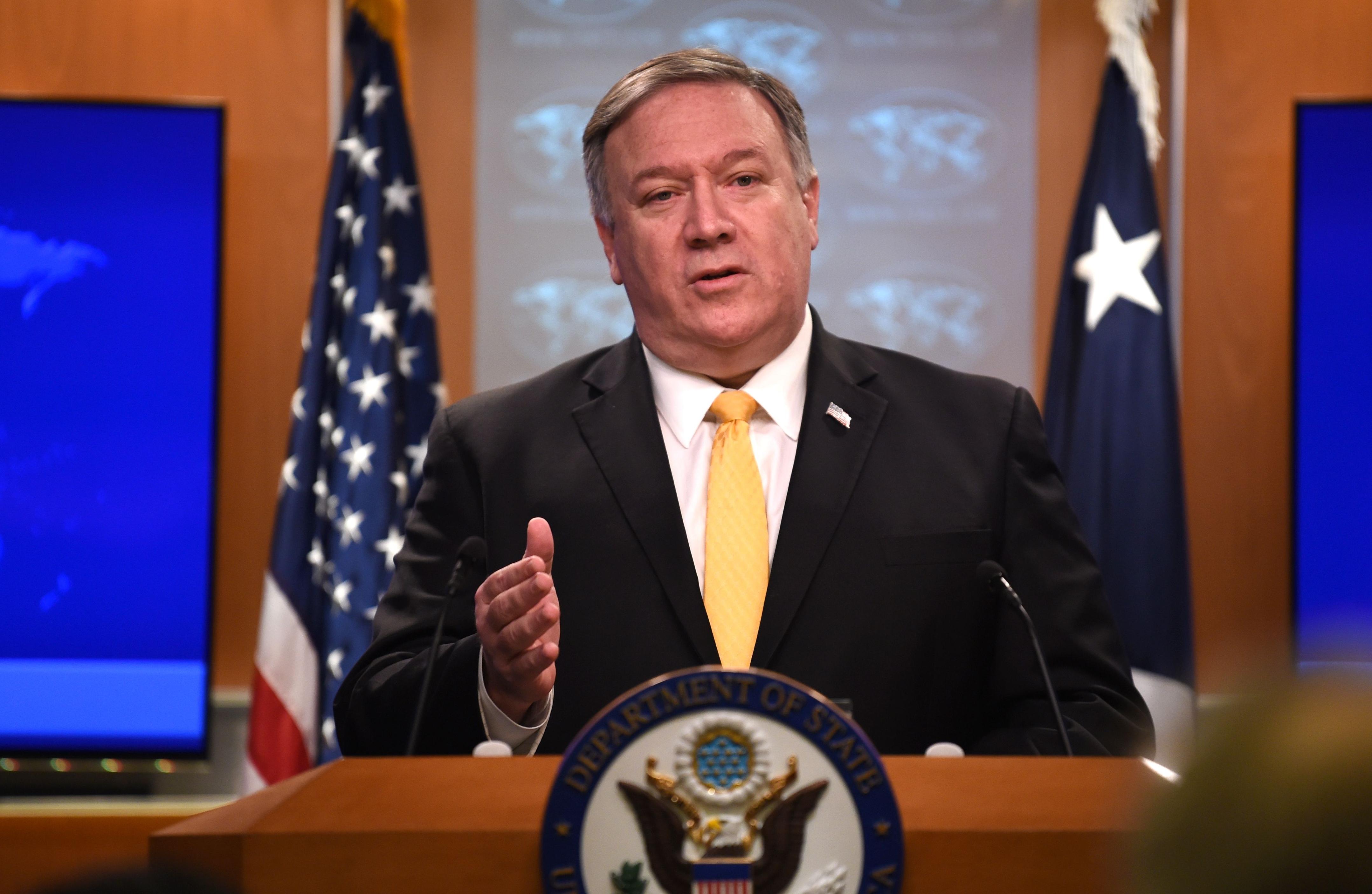 美国宣布暂停履行《中导条约》义务