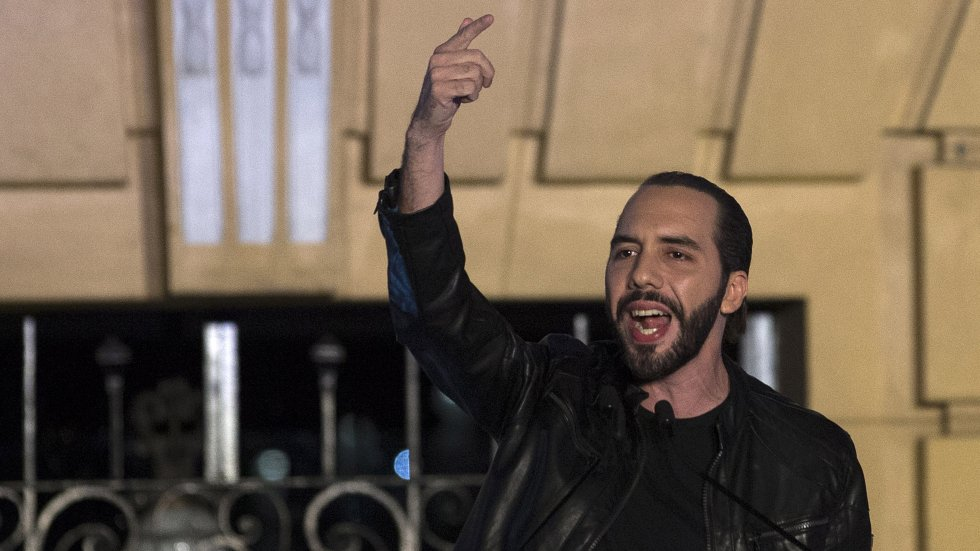 Youthful, leather jacket-loving Nayib Bukele elected president of El Salvador, one the world's most murderous countries