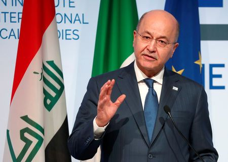 Iraqi President says trump did not ask for permission to 'watch Iran'