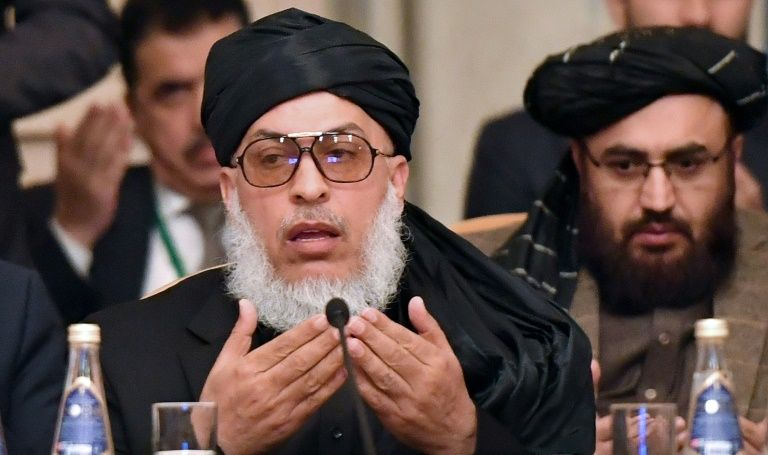 Taliban demand new constitution for Afghanistan at rare talks