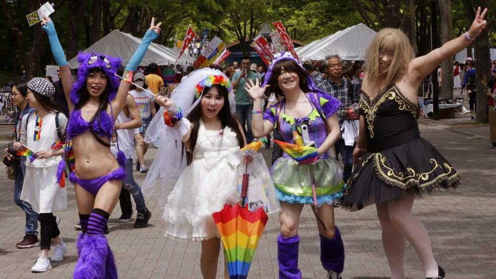 Japanese LGBT couples file Valentine's Day lawsuits in fight to make Japan the first Asian nation to legalise gay marriage