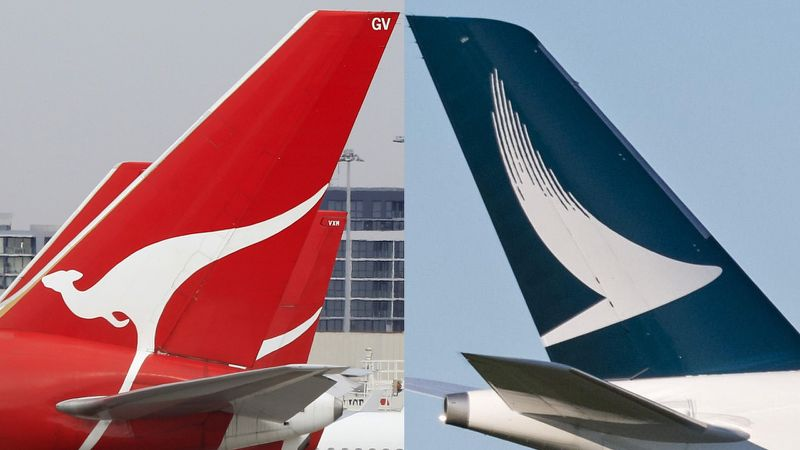 Hong Kong's cathay pacific airways and Australia's qantas move ever closer – and virgin is miffed
