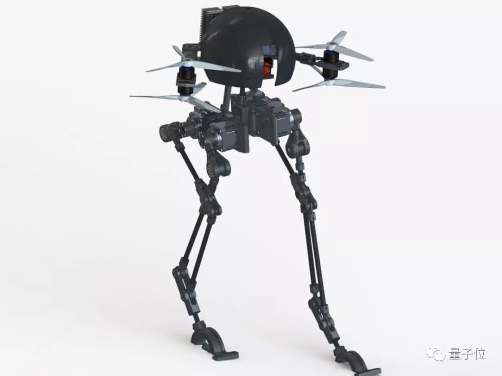 无人机长了腿,能走能飞不摔跤,还要去探索火星