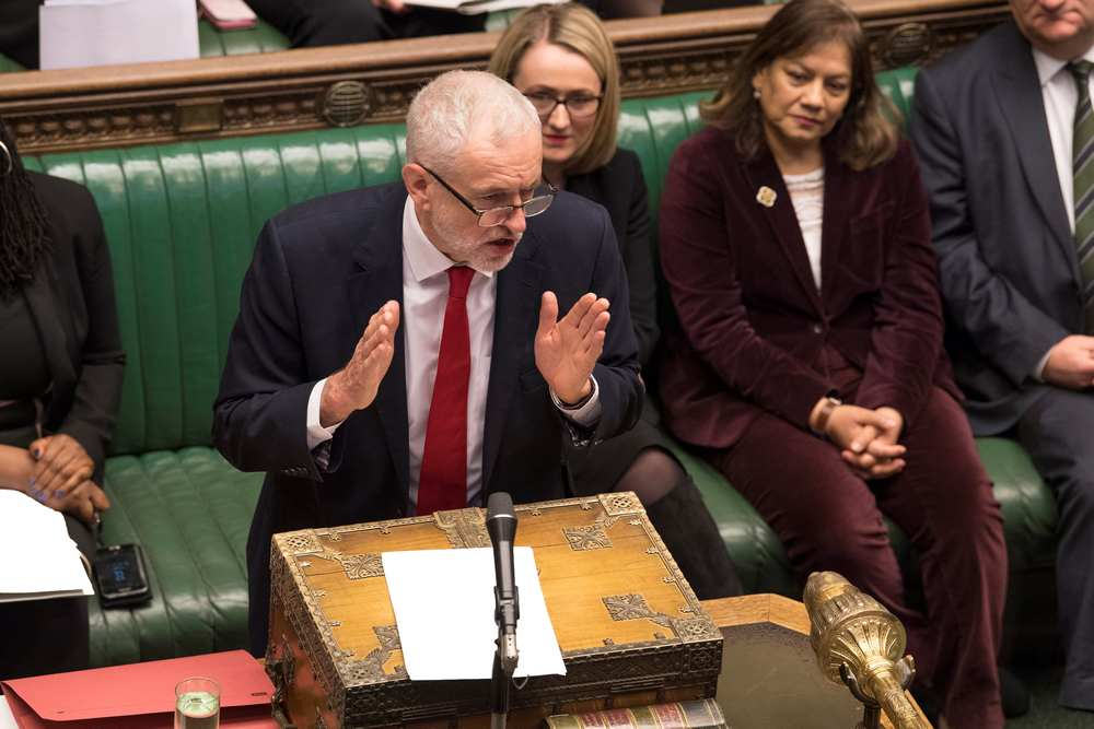 UK Labour's Brexit offer rebuffed by govt, welcomed by EU