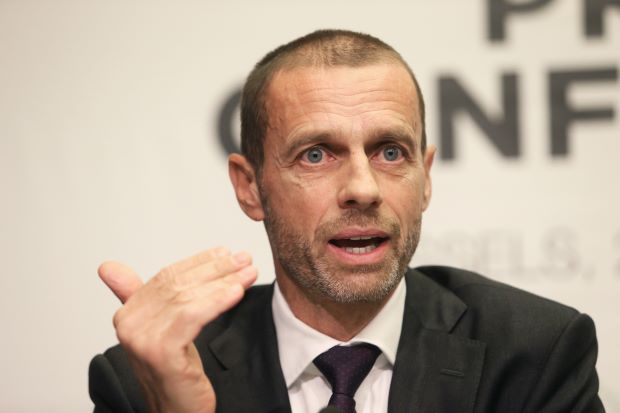 Soccer-Re-elected UEFA head Ceferin wants competitions overhaul