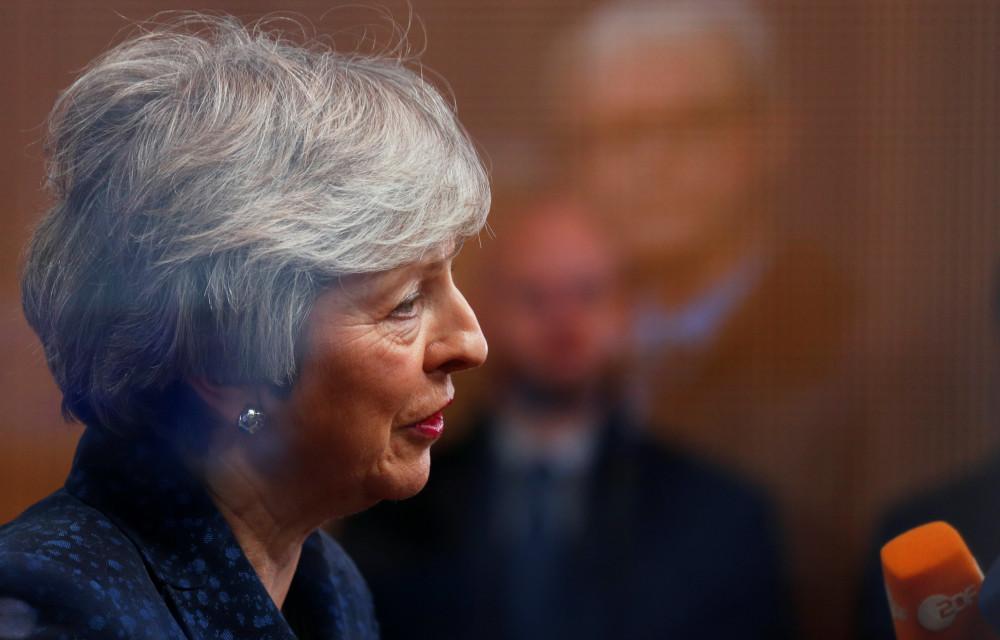 UK's May to promise new Brexit debate in push for more negotiating time