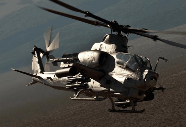 """贝尔将向巴林交付12架AH-1Z""""毒蛇""""武装直升机"""