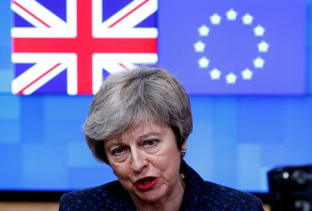 UK's May rejects pivot towards Brexit customs union compromise