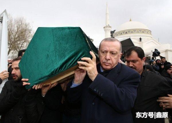 惨烈!土耳其大楼倒塌致21死,埃尔多安抬棺送葬以致哀悼!
