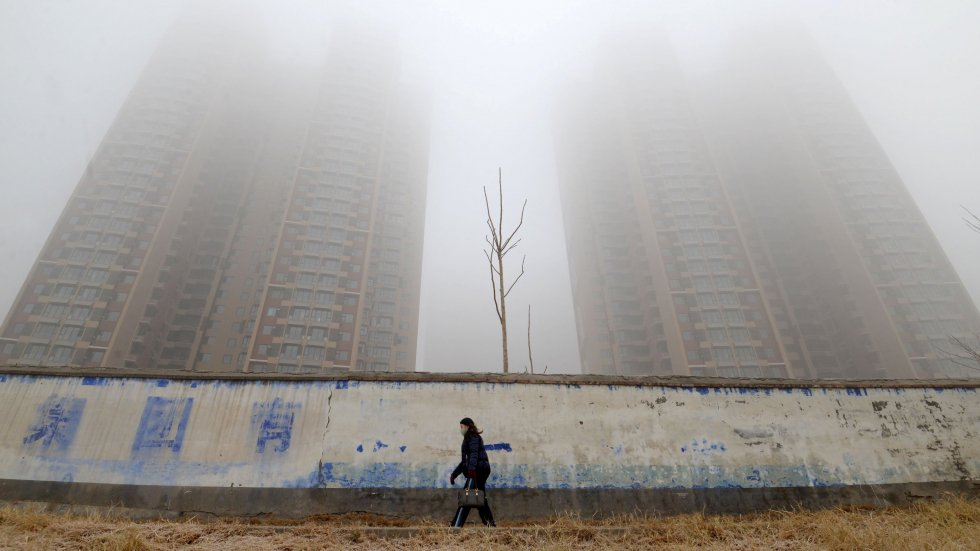Pollution in northern China up 16 per cent in January as industrial activity spikes