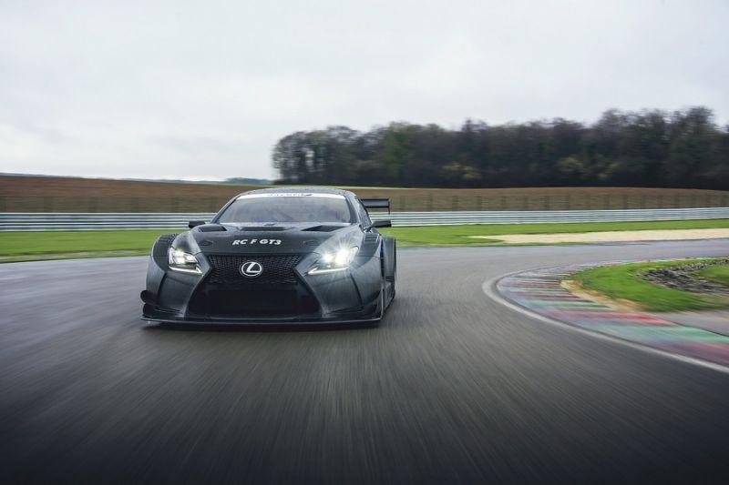 Panis Barthez team adds Blancpain GT programme with Lexus