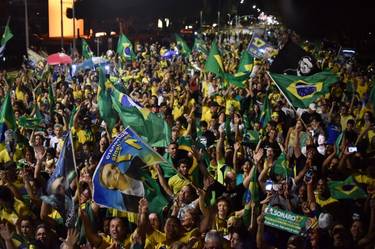 Bolsonaro elected president in BrazilControversial right-wing populist secures 55.7% of the vote in Brazilian poll