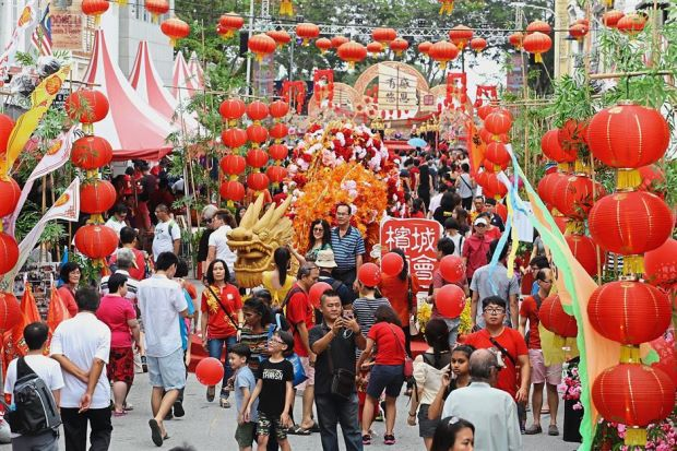 Thousands of visitors have a fabulous time at annual state Chinese New Year celebration