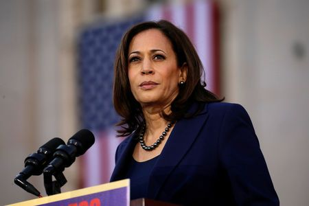 U.S. Presidential candidate harris says she tried pot - and inhaled