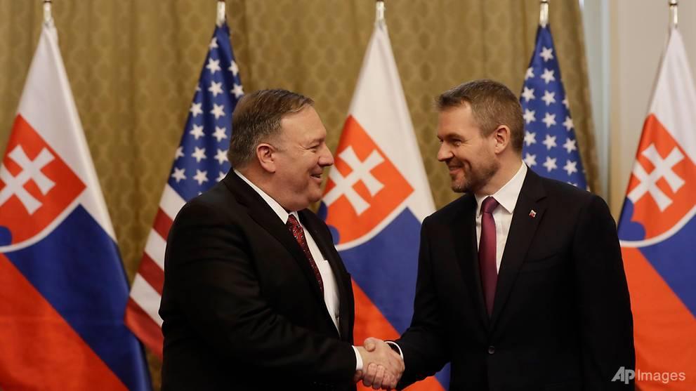 Pompeo says Putin threatening democracies worldwide