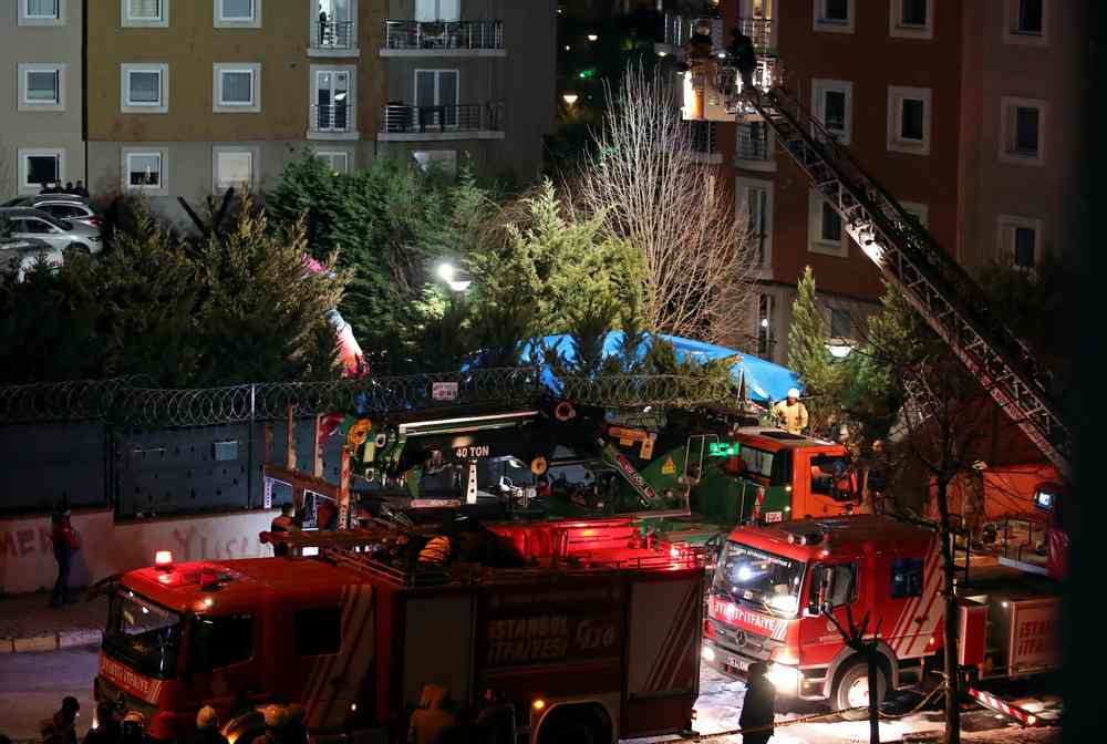Four soldiers killed in Istanbul helicopter crash, says city governor