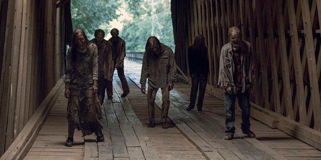 'The Walking Dead' Cut A Big Zombie Fight