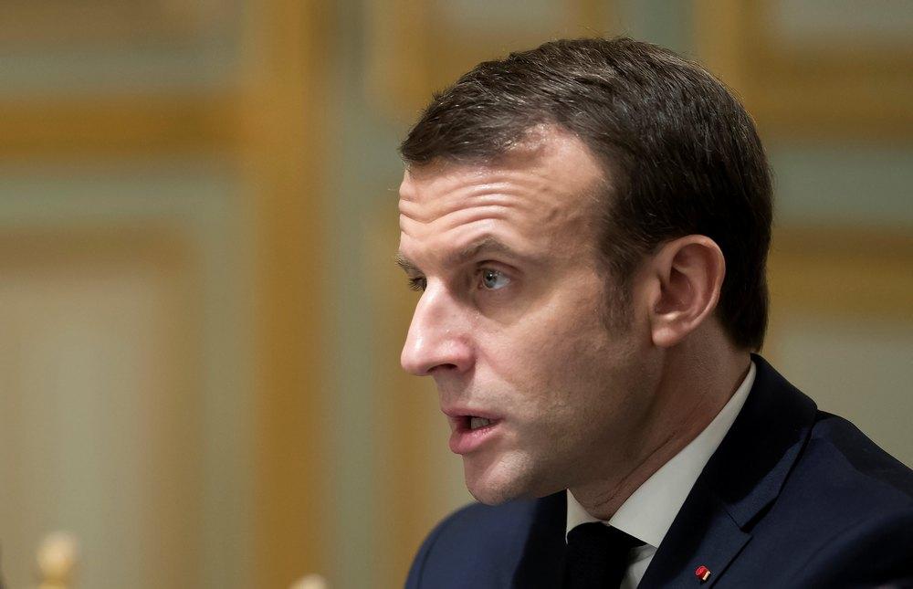 Macron on virus: 'We're just at beginning of this epidemic'