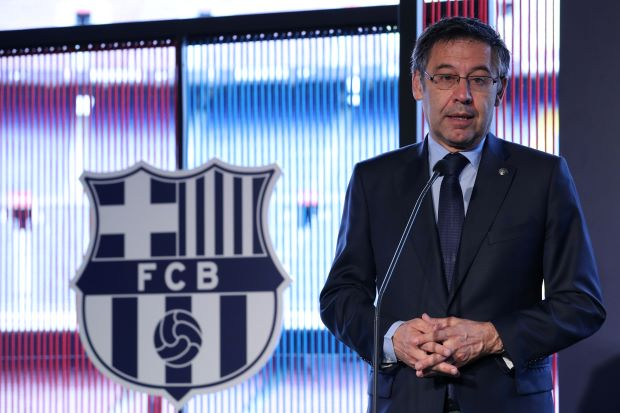 Barca president says La Liga should play three games overseas