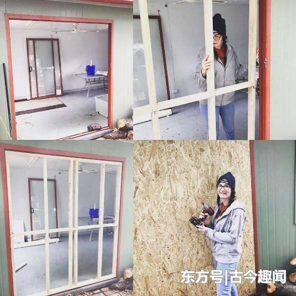 她离婚后无家可归 自建小房子仅花8千英镑