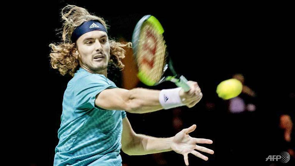 Tennis: Tsitsipas 'loses to himself' in Rotterdam exit