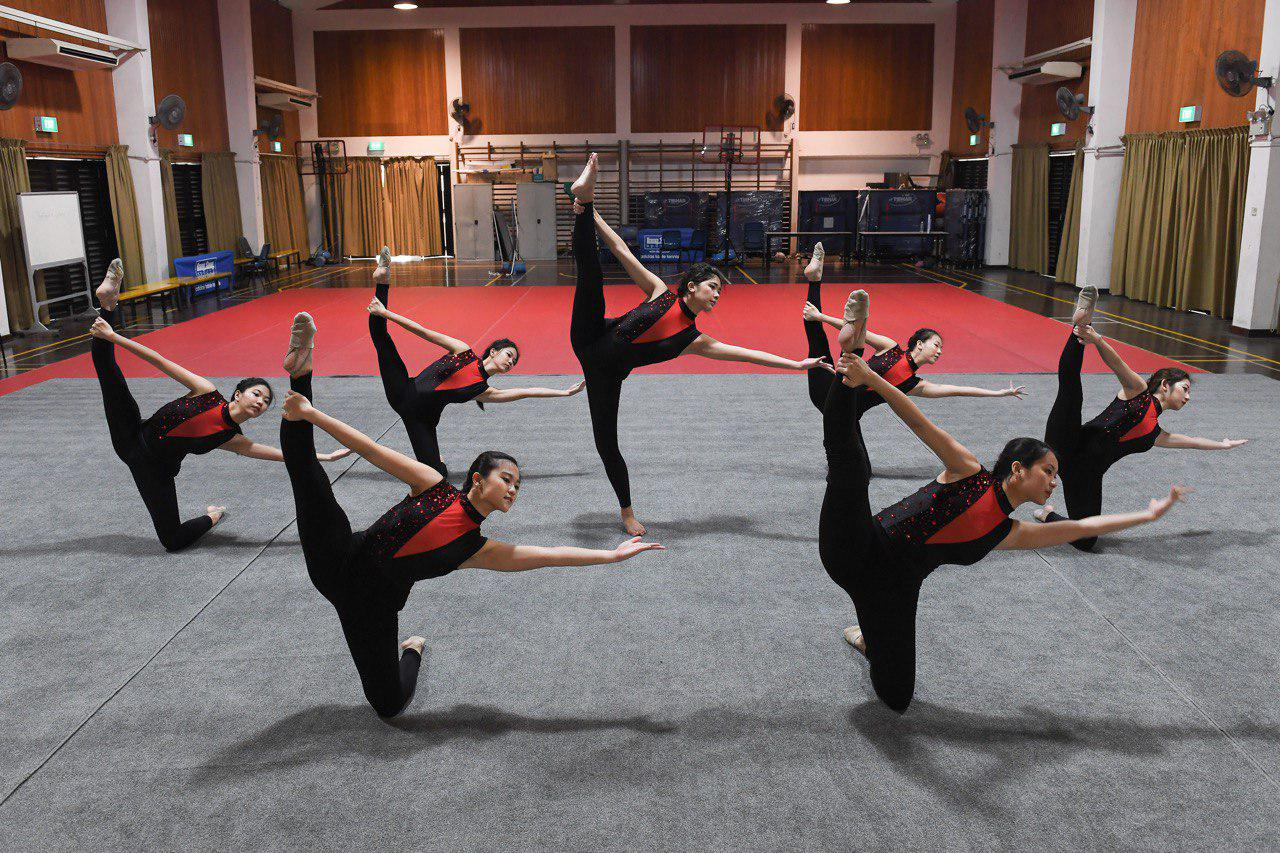 Aesthetic Group Gymnastics is a thing, & these S'porean girls are taking to the world stage with it