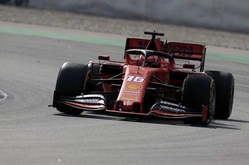 F1 testing: Leclerc ensures Ferrari fastest again on second morning