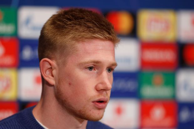 Man City will not change style despite hiccups, says De Bruyne