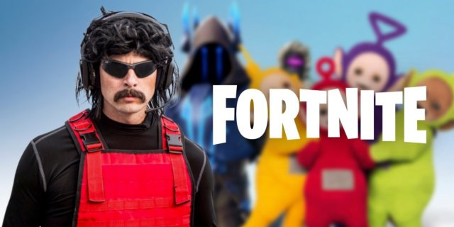 """Dr. Disrespect Calls 'Fortnite' a """"Fad,"""" Says """"It's Just Like Teletubbies"""""""