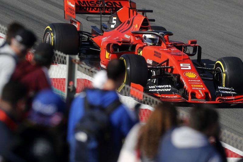 F1 testing video: Why Ferrari is 'very confident' for 2019