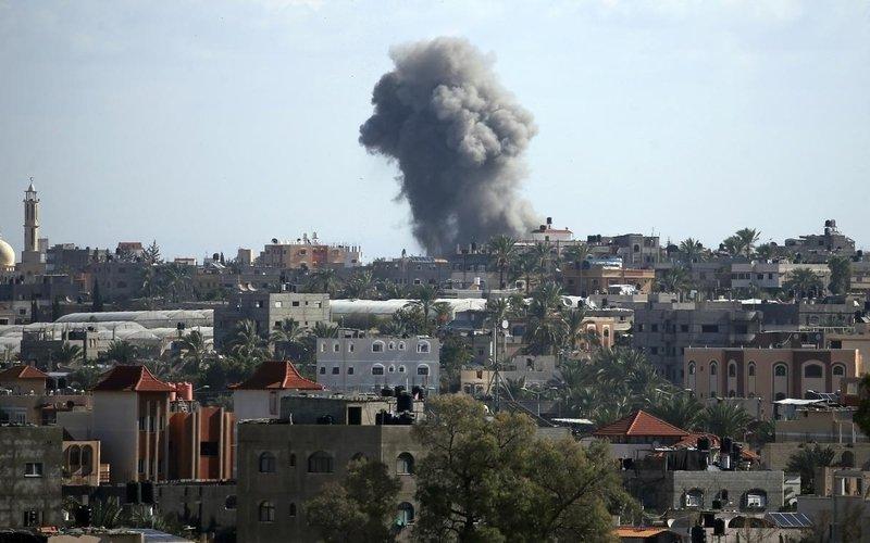 Trump says US backs Israel '100%' over Gaza escalation