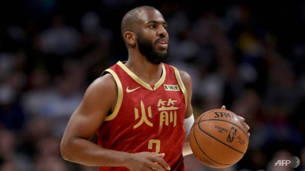 Basketball: Rockets' Paul cracks NBA all-time top 10 in steals