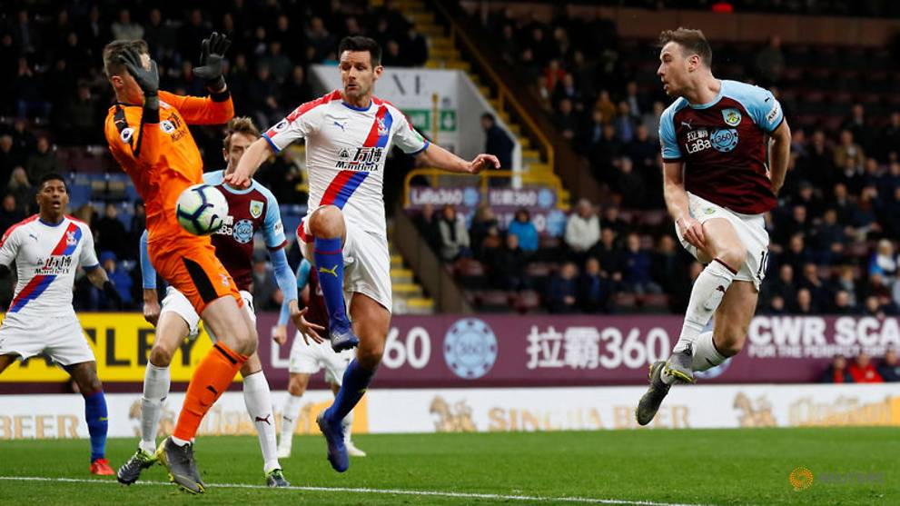 Palace climb away from trouble with 3-1 win at Burnley