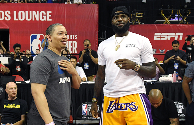 Tyronn Lue Could Reportedly Replace Luke Walton as Lakers Head Coach This Summer