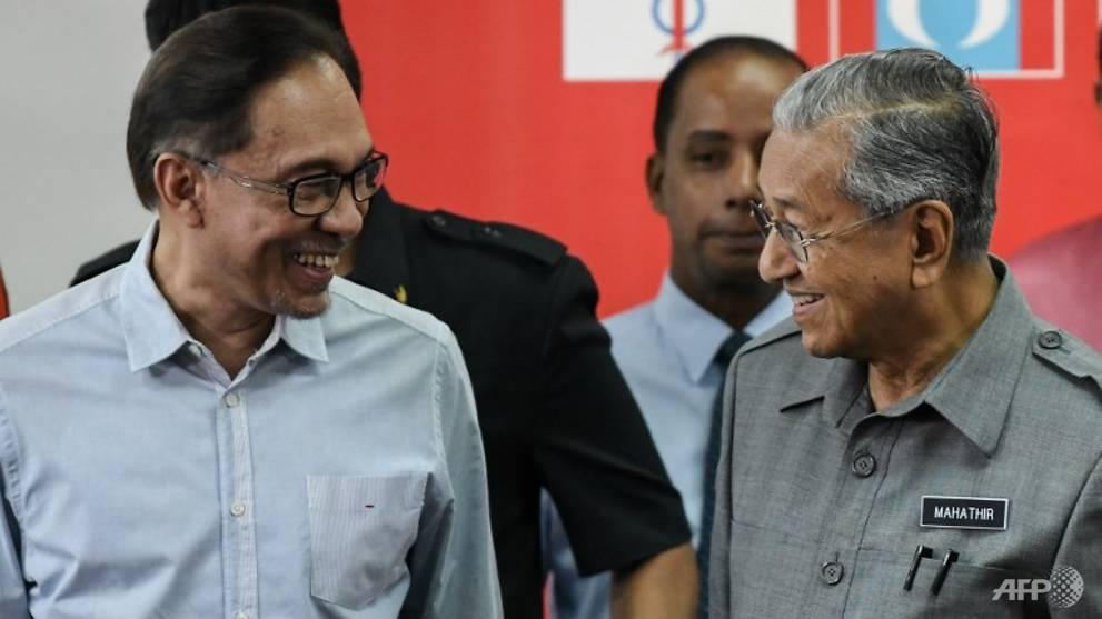 Mahathir has made 'no ambiguity' on transition of power in Malaysia: Anwar