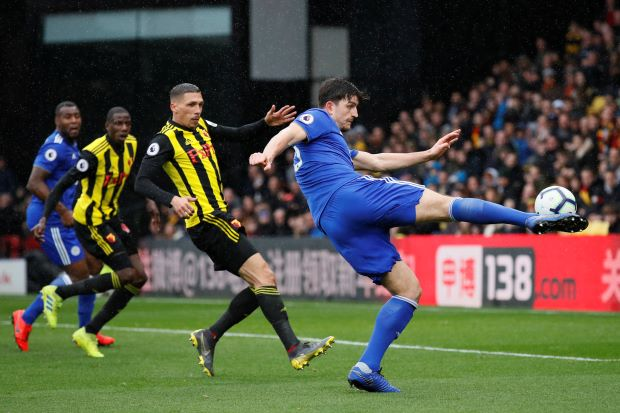 Watford's Gray strikes late to spoil Rodgers' Leicester debut