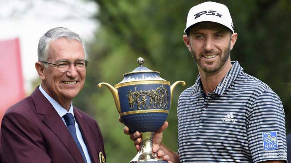 Golf: Johnson confirms return to world number one