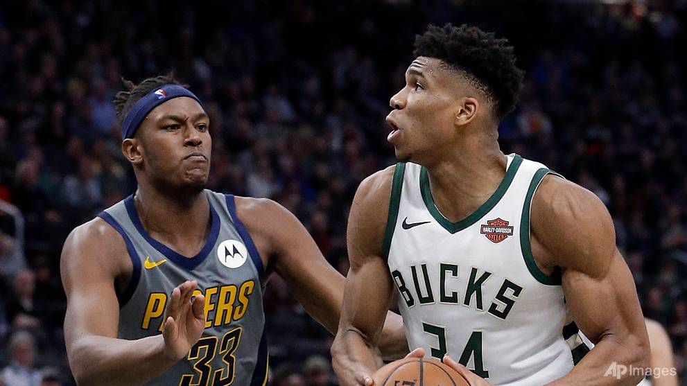 Basketball: Bucks bounce back from consecutive losses to punish Pacers