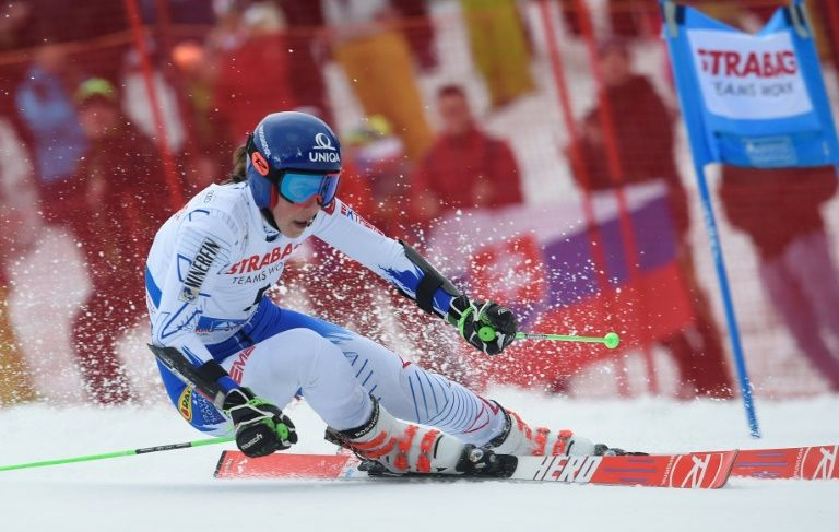 Shiffrin giant slalom bid goes to the wire as Vlhova wins again