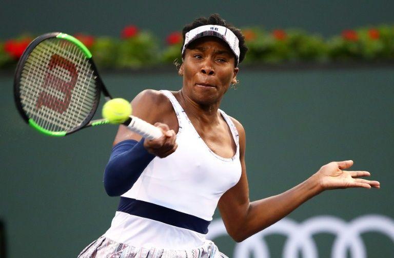 Venus fights past frustrated Kvitova, Osaka takes Indian Wells stage