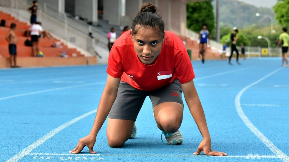 'I need to represent Singapore even though my father couldn't': The para-athlete who chases her dreams and the dreams of others
