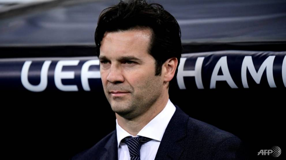 Football: Solari committed to Real but future in serious doubt