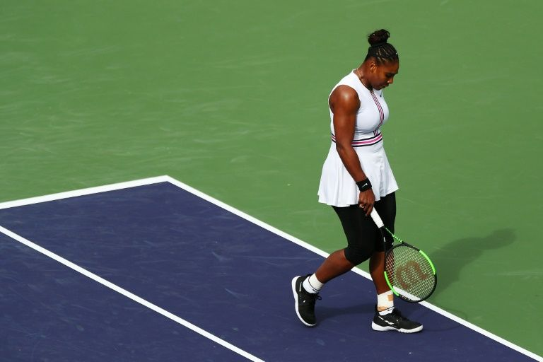 Ailing Serena retires from 3rd round match at Indian Wells