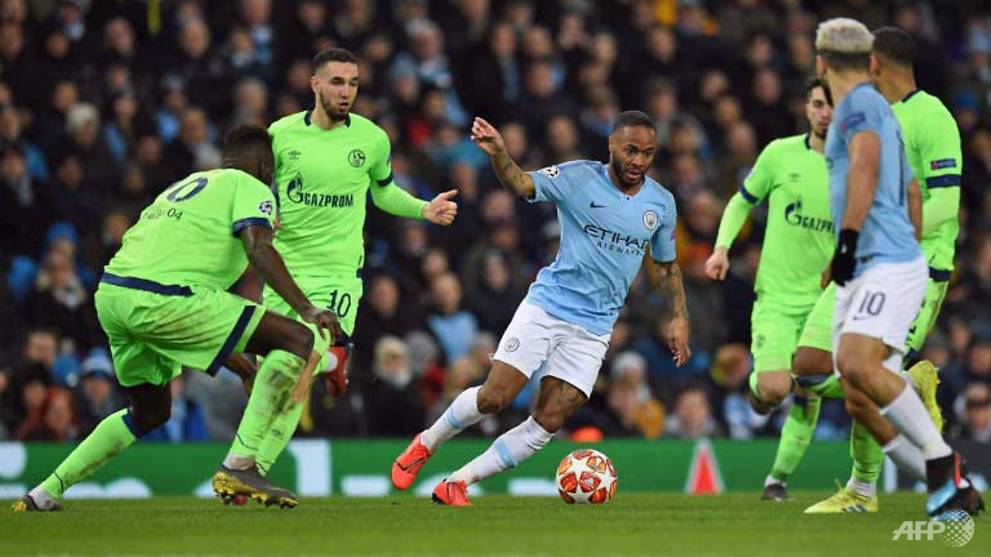 Football: Man City thrash Schalke 7-0 to reach Champions League quarter-finals